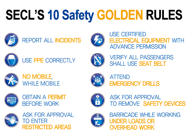 10 safety rules